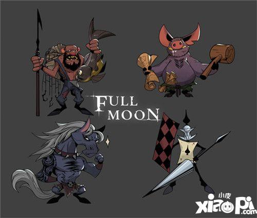 月圆之夜狼人