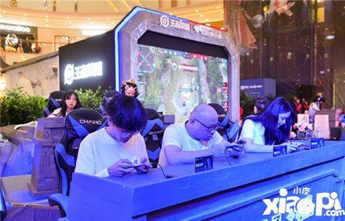 黑鲨手机王者荣耀游戏家中国行福州站